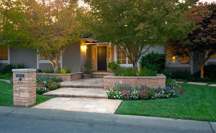 Low Maintenance Landscape Ideas Front Yard Curb Appeal