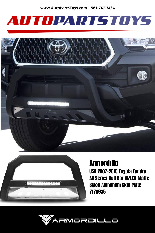 Armordillo USA 7176645 AR Series Bull Bar W//LED Fits 2005-2007 Ford Super Duty F-250//F-350//F-450 Matte Black