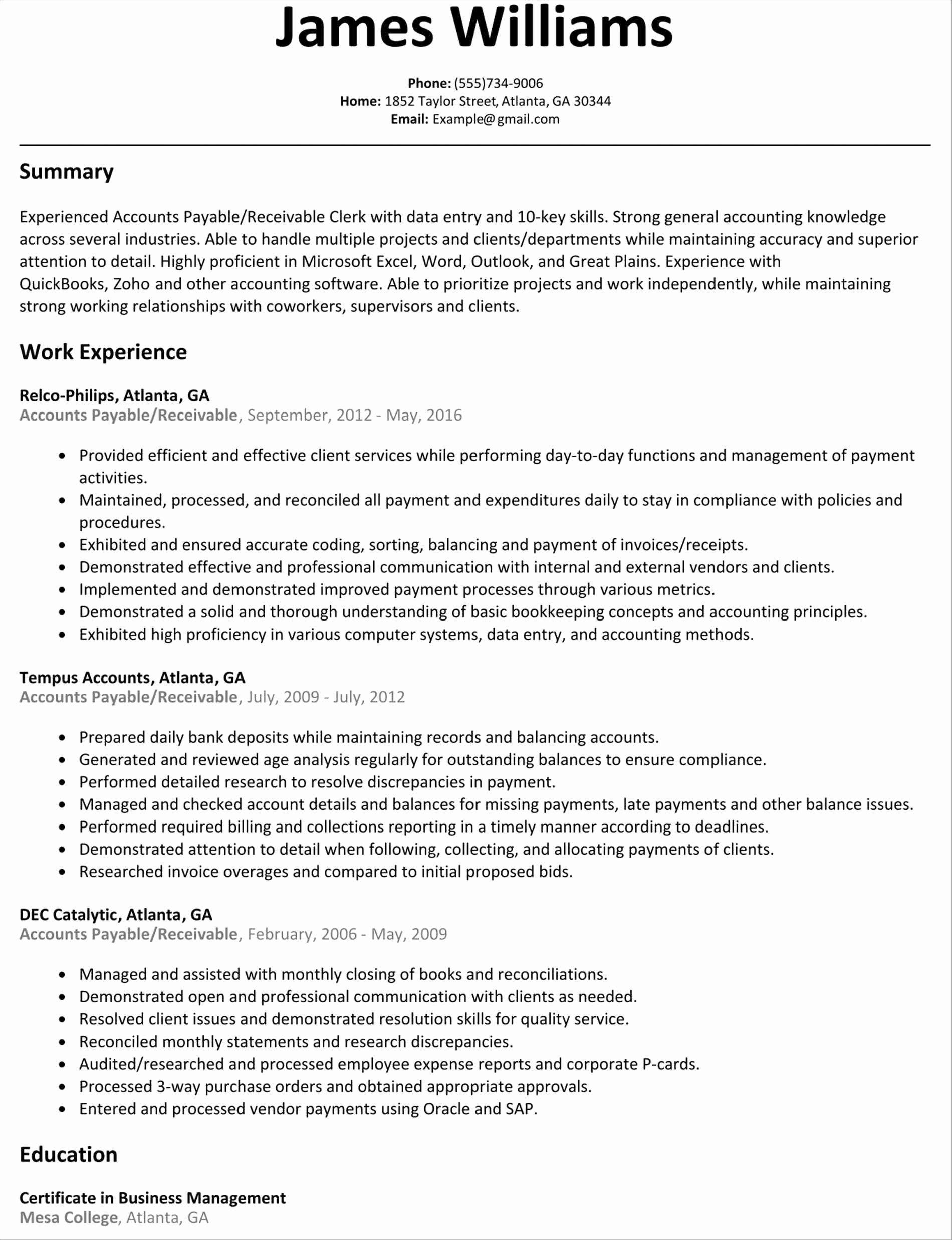 Resume Format For Zoho Job Resume Examples Resume Format