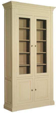 meuble biblioth que portes vitr es d montable mobilier biblioth ques signature. Black Bedroom Furniture Sets. Home Design Ideas