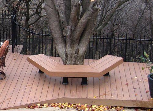 Square Wrap Around Tree Bench Plans Garden Stuff In 2019