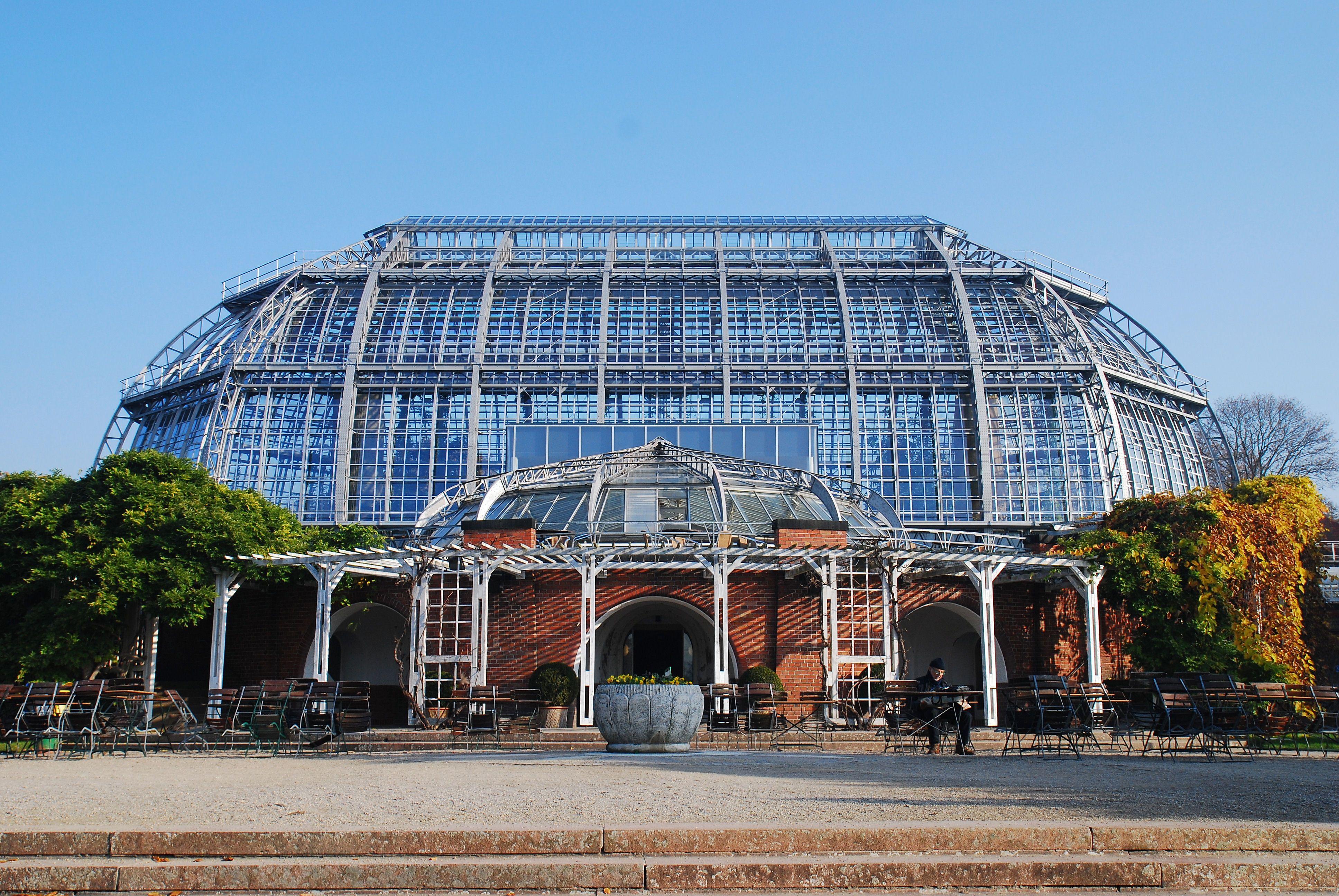 Berlin Botanischer Garten Grosses Tropenhaus 1907 Photo Spots Photo Building