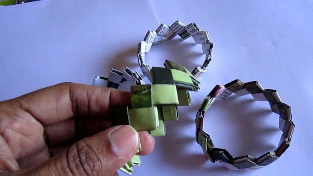 Handmade Candy Paper Bracelet - http://videos.silverjewelry.be/bracelets/handmade-candy-paper-bracelet-3/