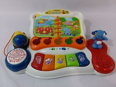 Singamp; Story Piano Vtech Baby Discover Kid's Electronic 0765 Child's c35LAj4Rq