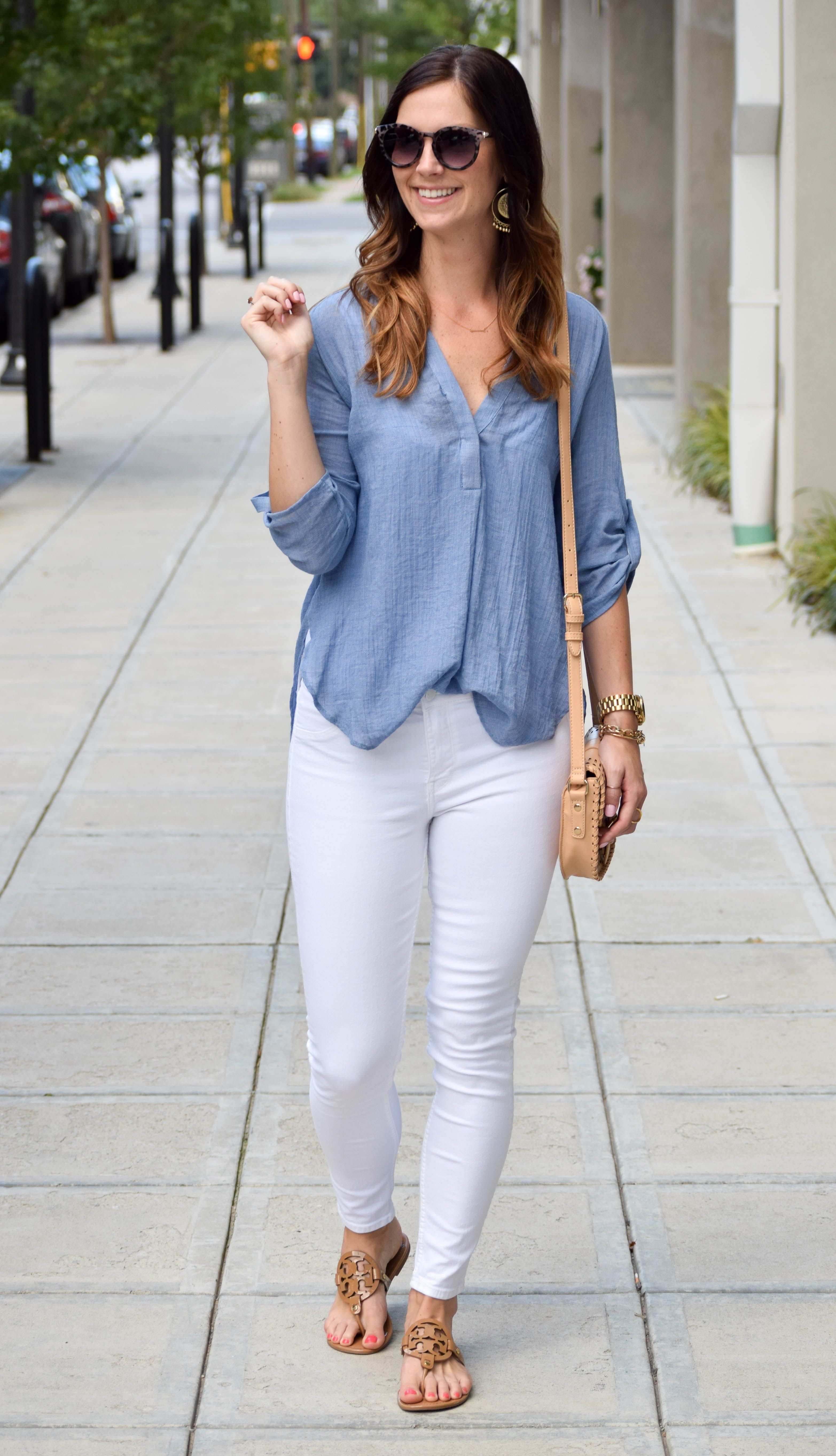 Favorite Tunic + White Denim |