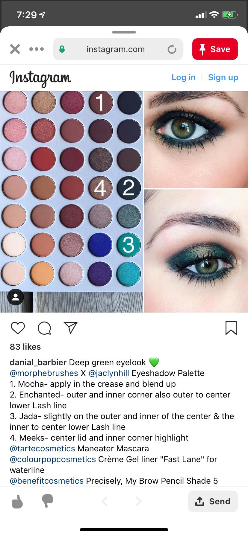 Image by StephanieAnn on morphe eye looks Skin makeup