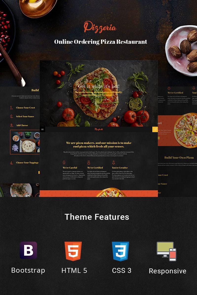 Pizzeria Pizza Maker Website Template 78480 Website Template