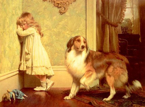 Charles Burton Barber 1845 1894 English Victorian Paintings