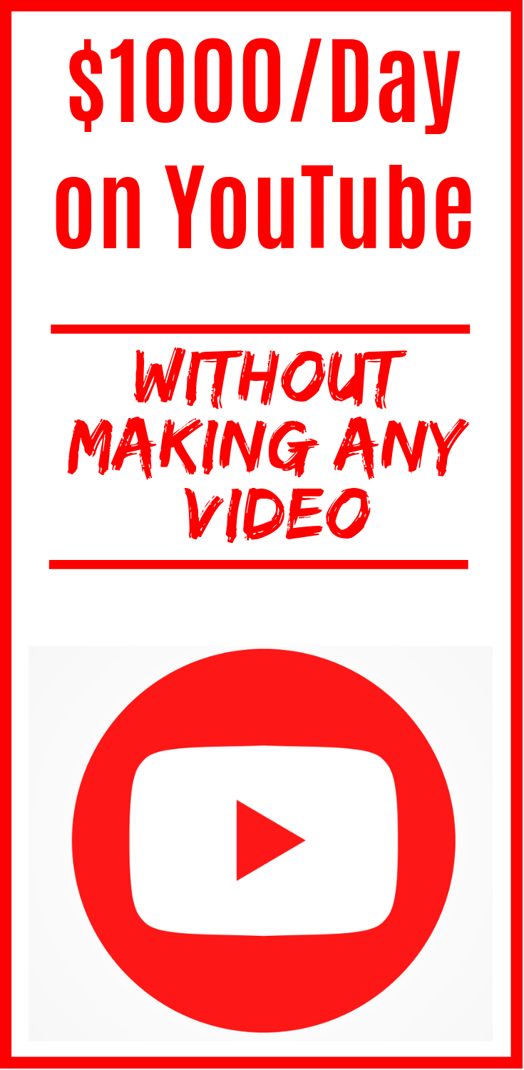 Learn How I Make A Six Figure Income From Youtube Without Making