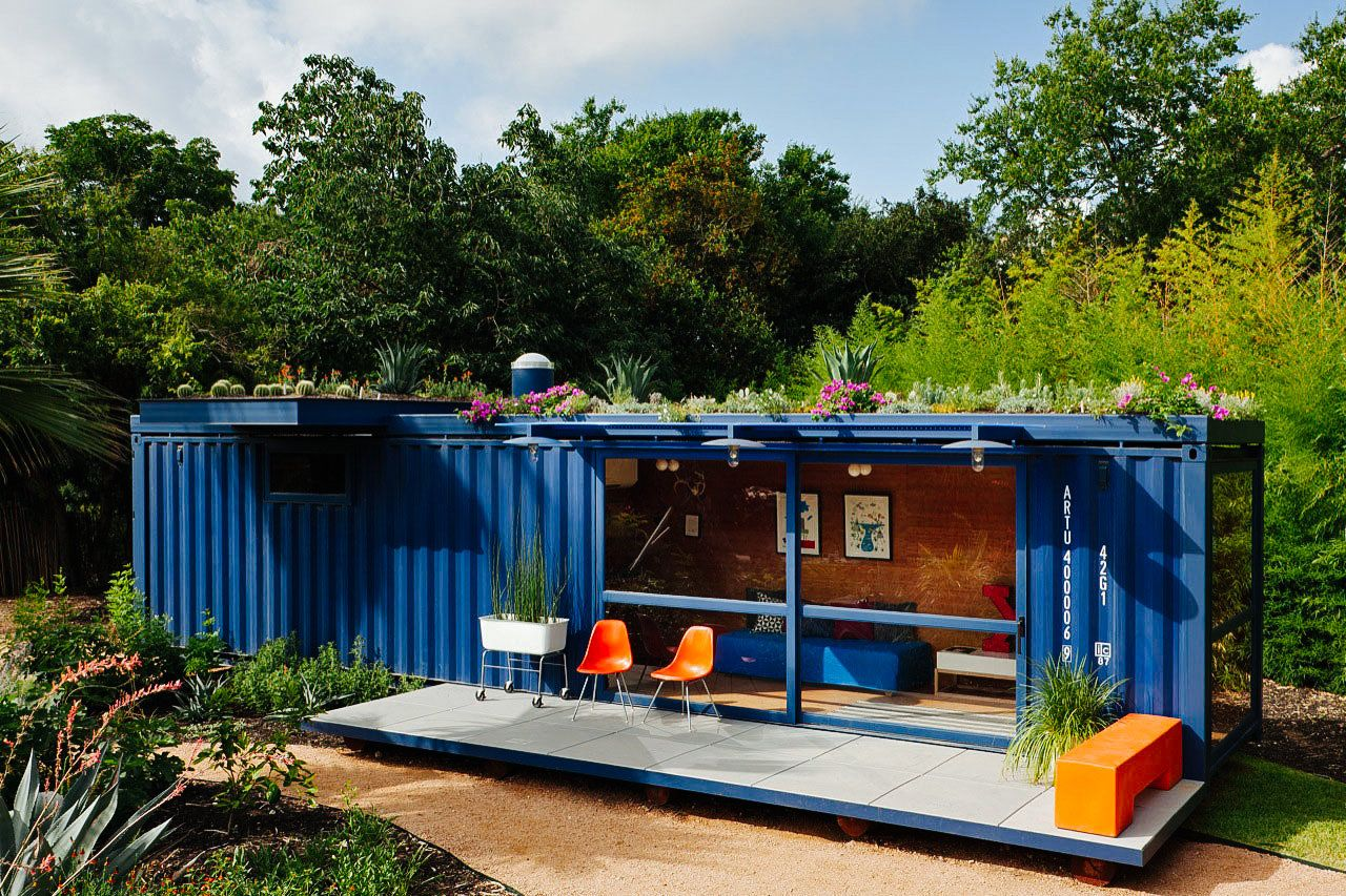 cool shipping container homes 20 Cool As