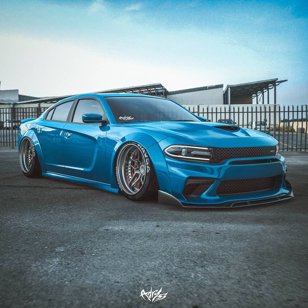 2020 Dodge Charger Hellcat Sittin Low On Ld97forged Ld08 In