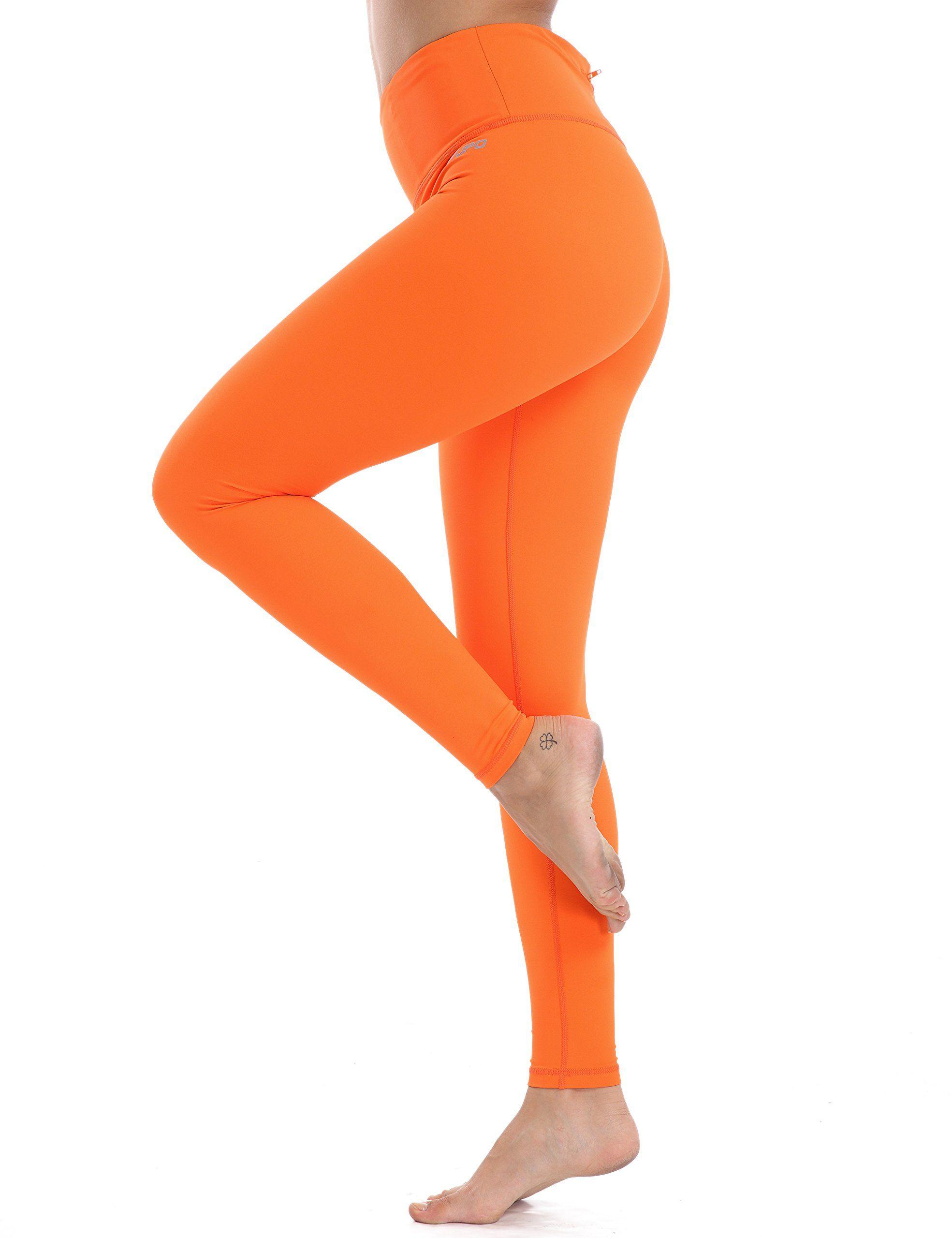 TAIBID Womens High Waist Yoga Pants Side Pockets Flare Workout Bootleg Leggings Size S XXL
