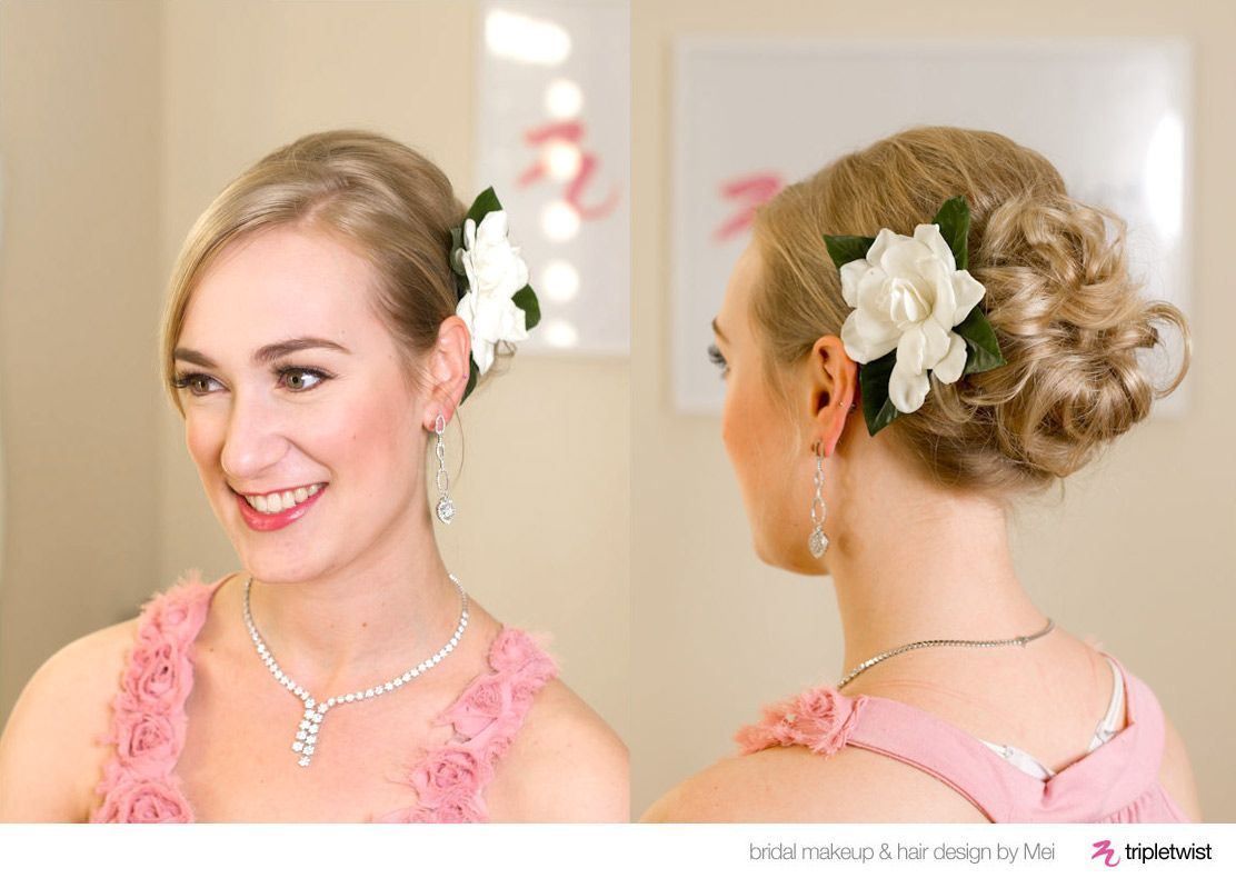 wedding hairstyles for bridesmaids   categories : 2013