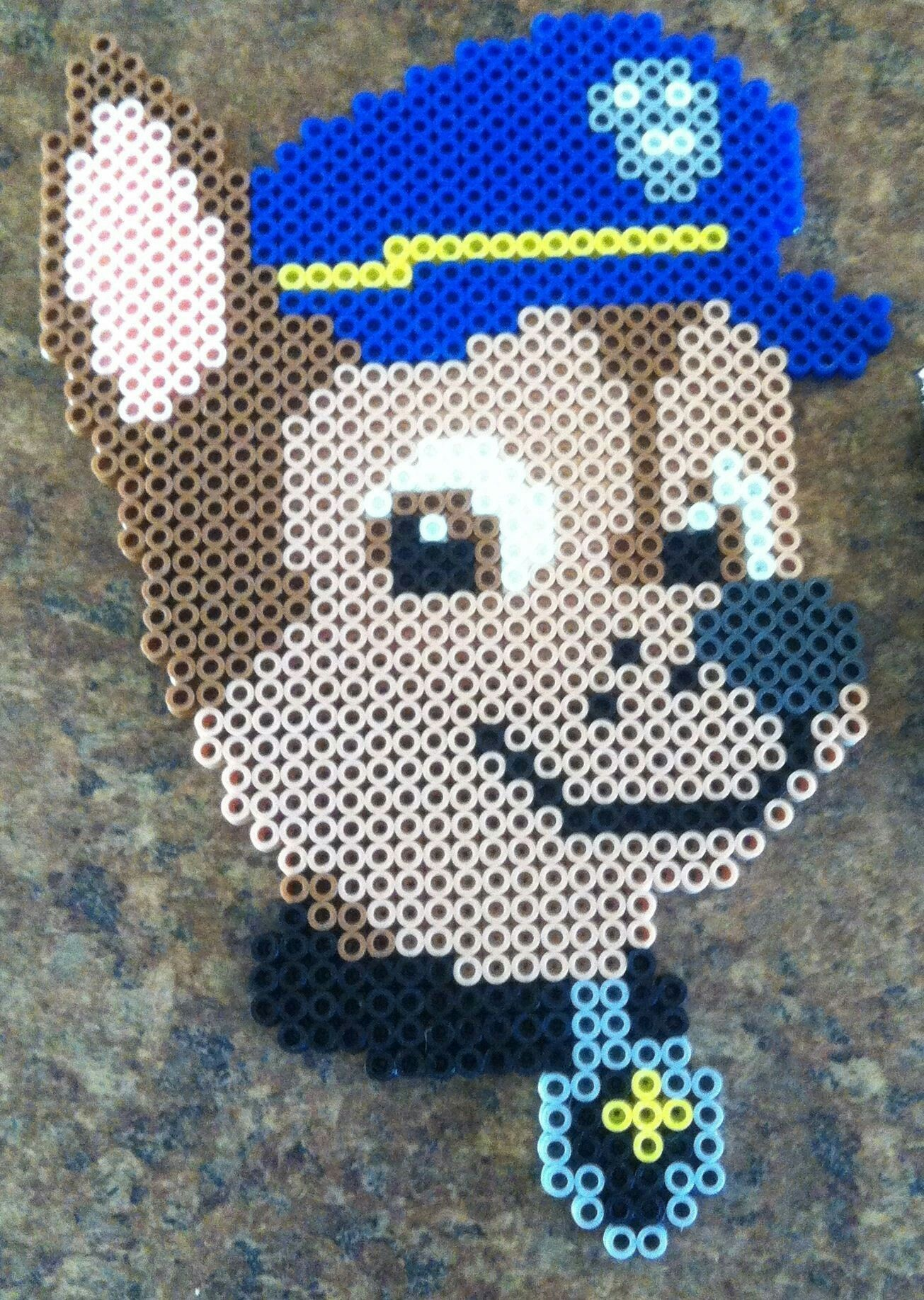 Paw Patrol Perler Bead Necklaces Melted Bead 4