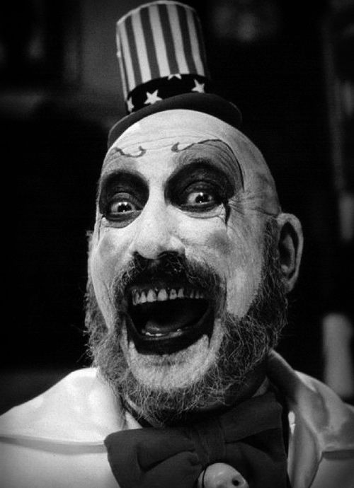 An irrational fear of clowns and the one that im cool with happens to be a serial killer. thats completely normal...