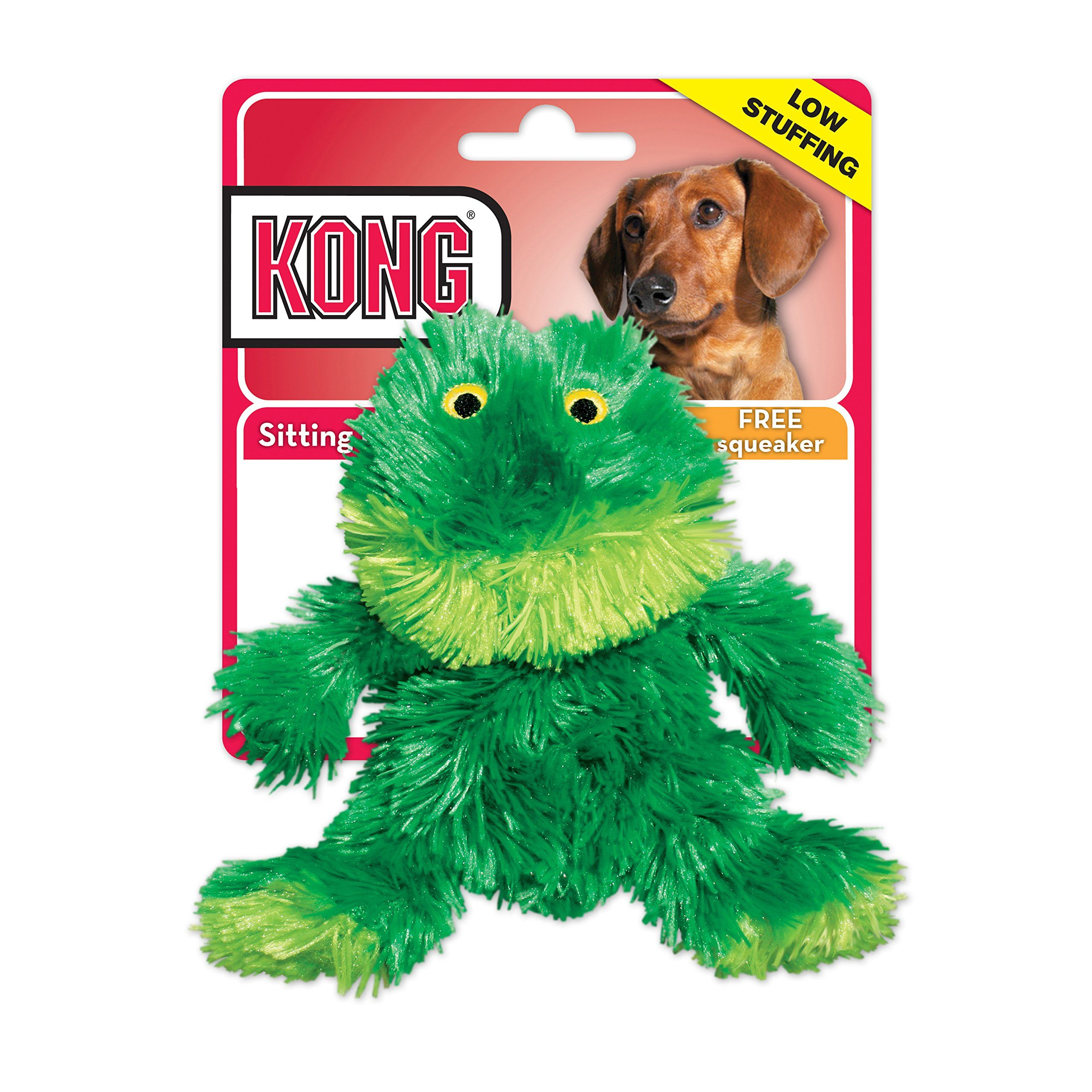 Small Dog Toys Kong Plush Frog Toy Small Green Dog Stuff