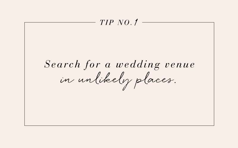 10 cost-saving tips for your wedding