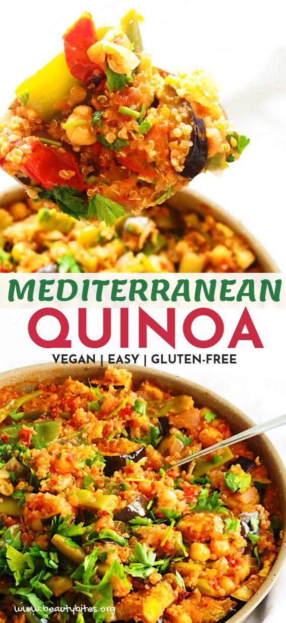 Photo of Quinoa Dinner Skillet – Easy Vegan Meal Prep – #dinner #Easy #Meal #Prep #Quin…