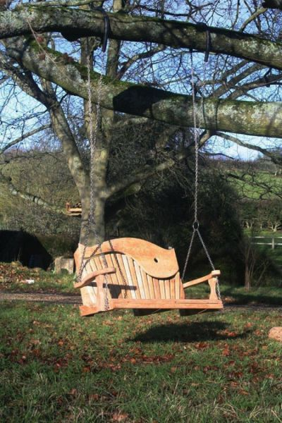 Double Hanging Swing Chair In Tree Google Search Garden Swing Seat Swing Seat Garden Swing