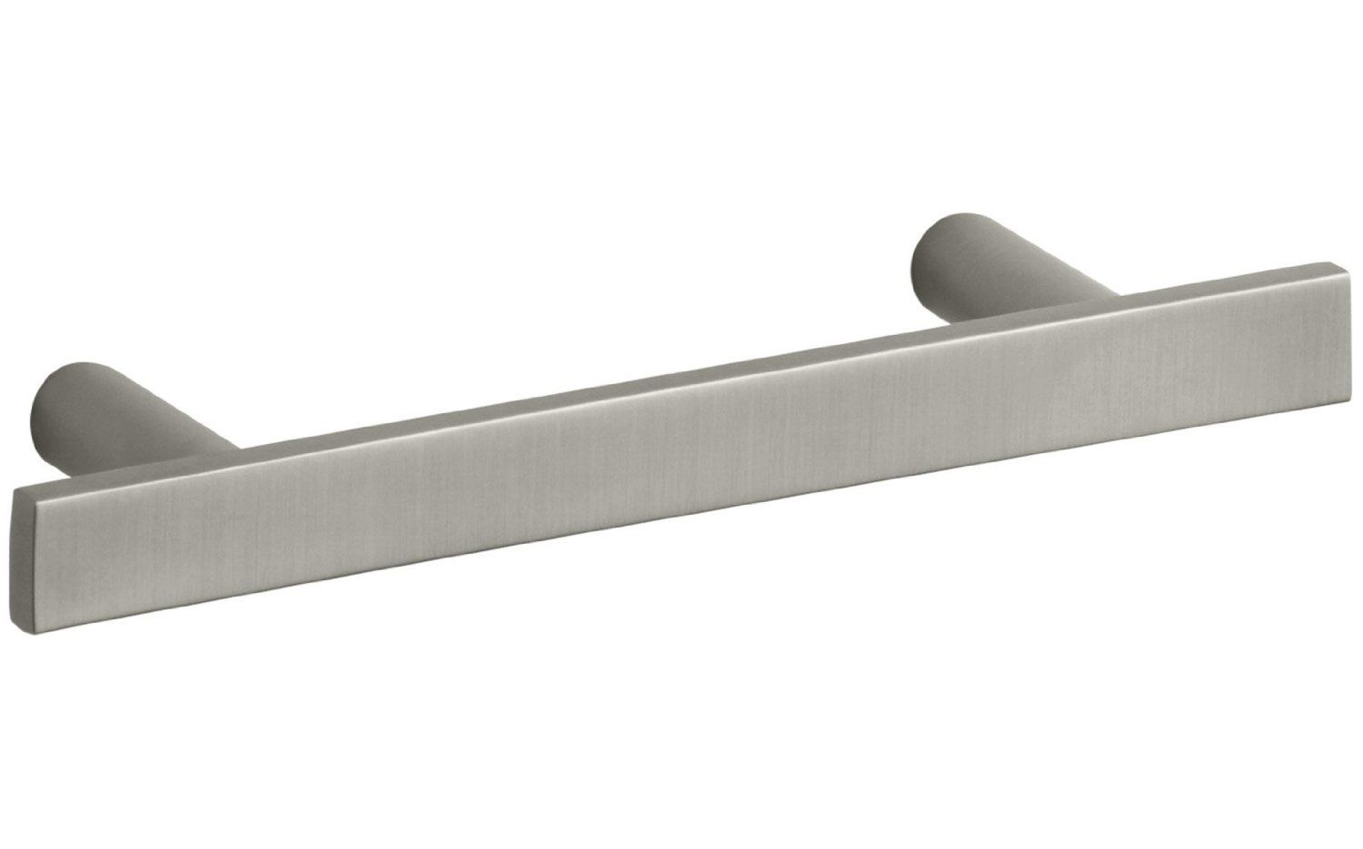 Kohler K 14386 Bn Stillness 3 Drawer Pull Vibrant Brushed Nickel Cabinet And Furniture Pulls Amazon Com Furniture Pulls Kohler Drawer Pulls