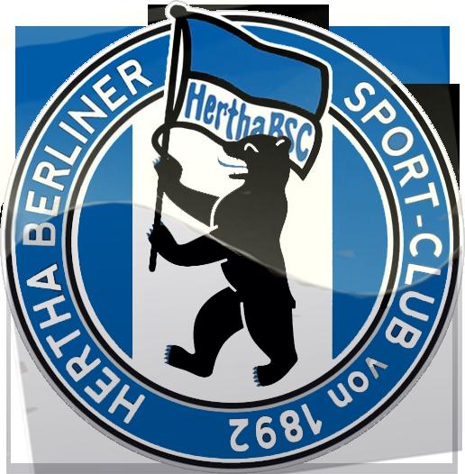 Hertha BSC Berlín Football logo, Team emblems, Sports logo