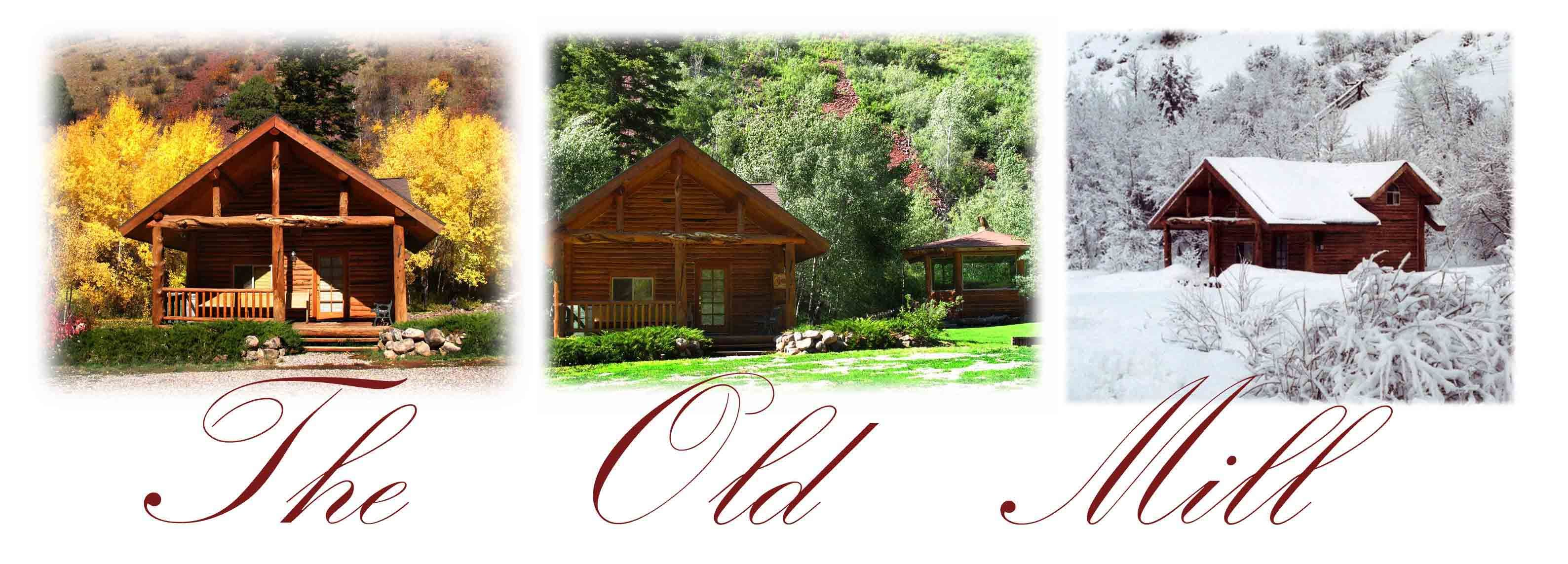 The Old Mill Log Cabins - Vacation Rentals - 3497 Dry ...  Old Log Cabins Wyoming