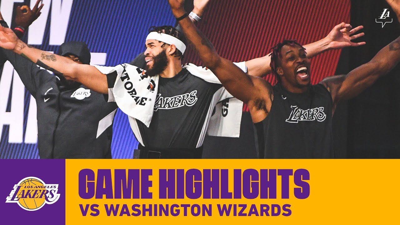 HIGHLIGHTS | Los Angeles Lakers vs Washington Wizards | Lakers vs,  Washington wizards, Los angeles lakers