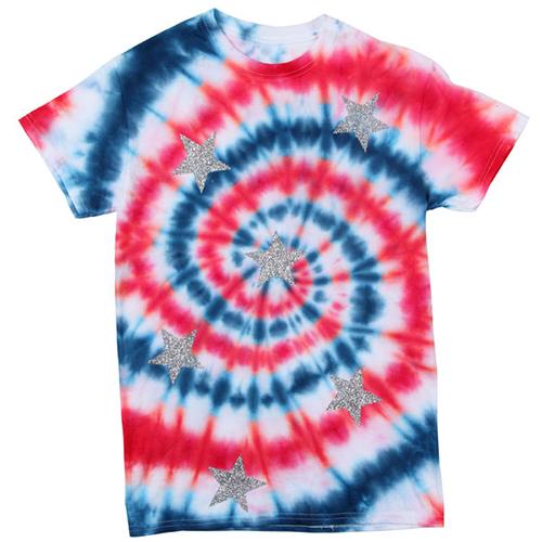 9ca7bde8 4th of july t-shirts diy   Rising Stars Tie Dye Spiral T-shirt   4th ...