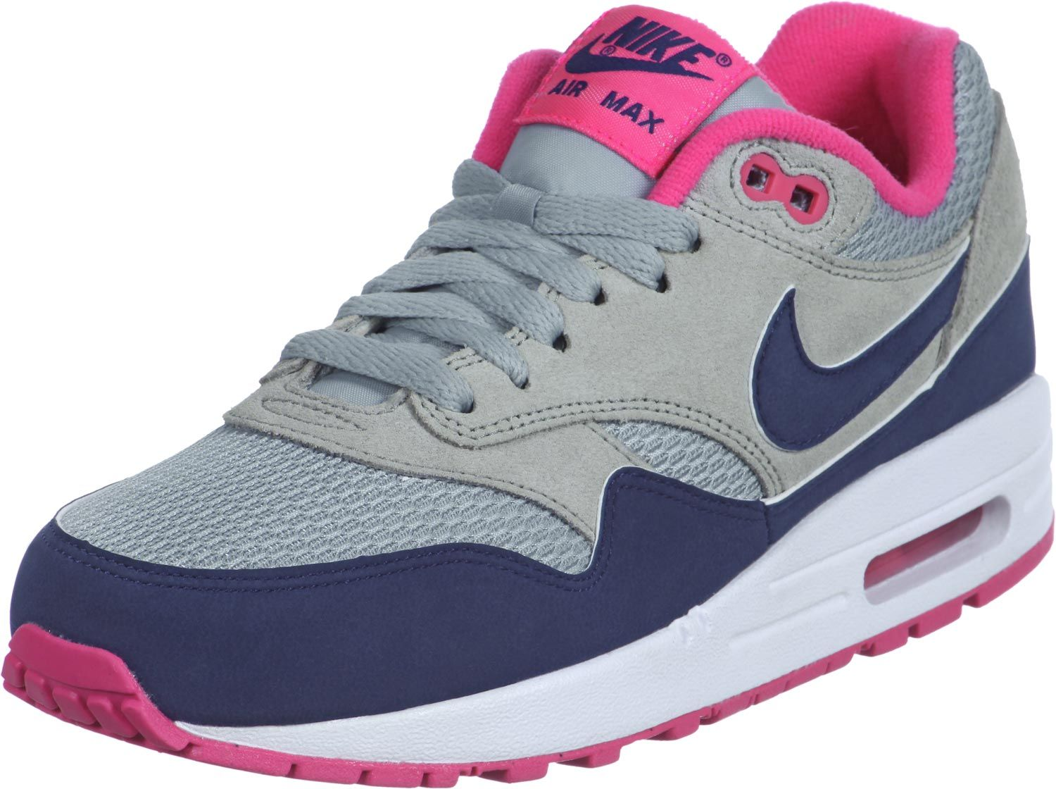 nike air max blauw rose