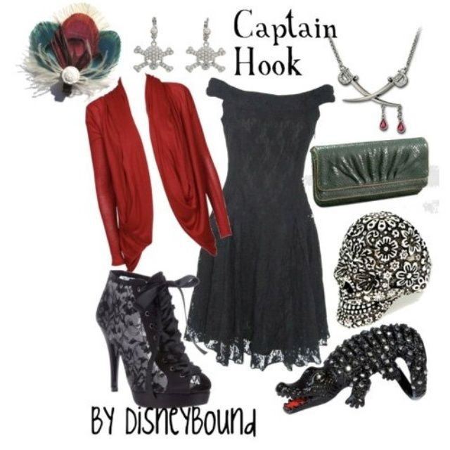 Disney outfits-Captain Hook