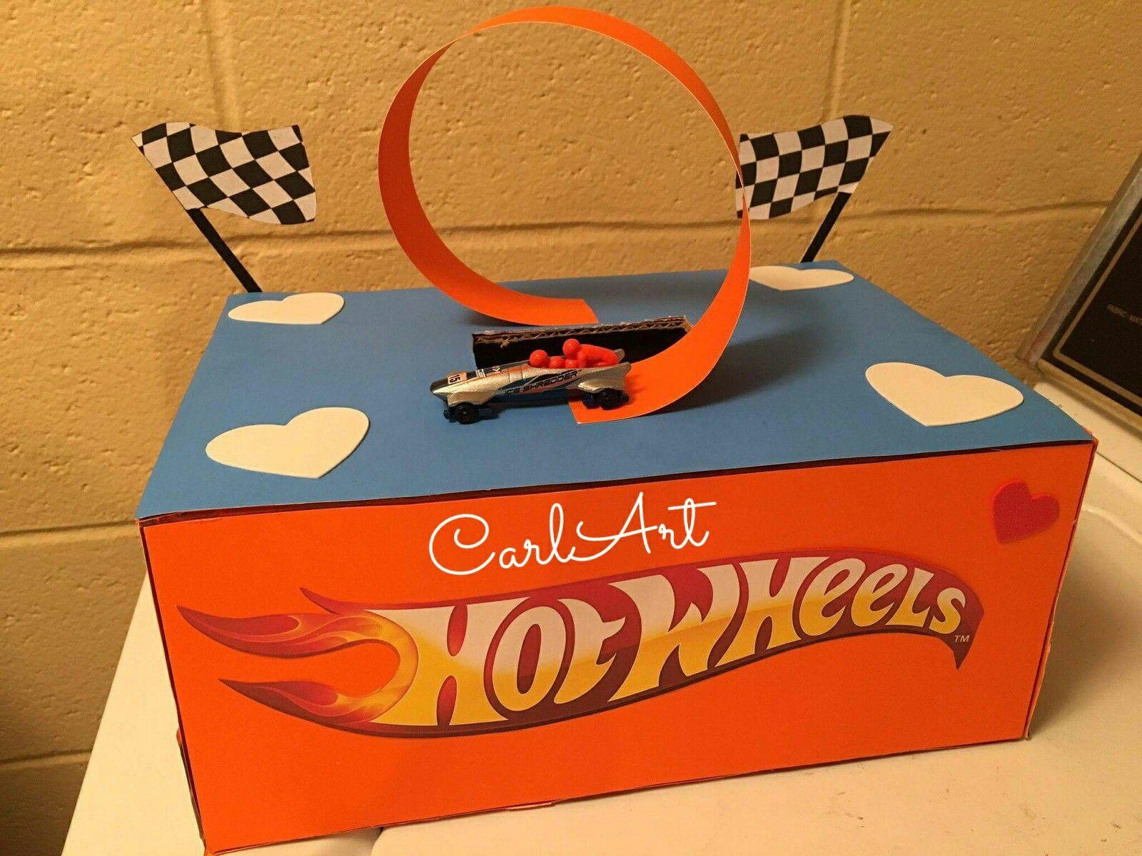 hot wheels valentine s day box valentine s day boxes rh pinterest com