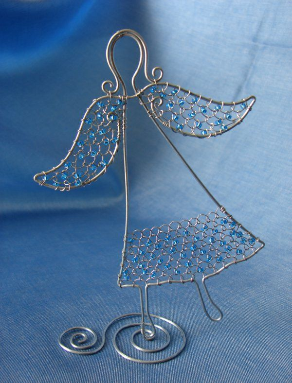 anjelik | Wire ornaments, Wire art and Crafts