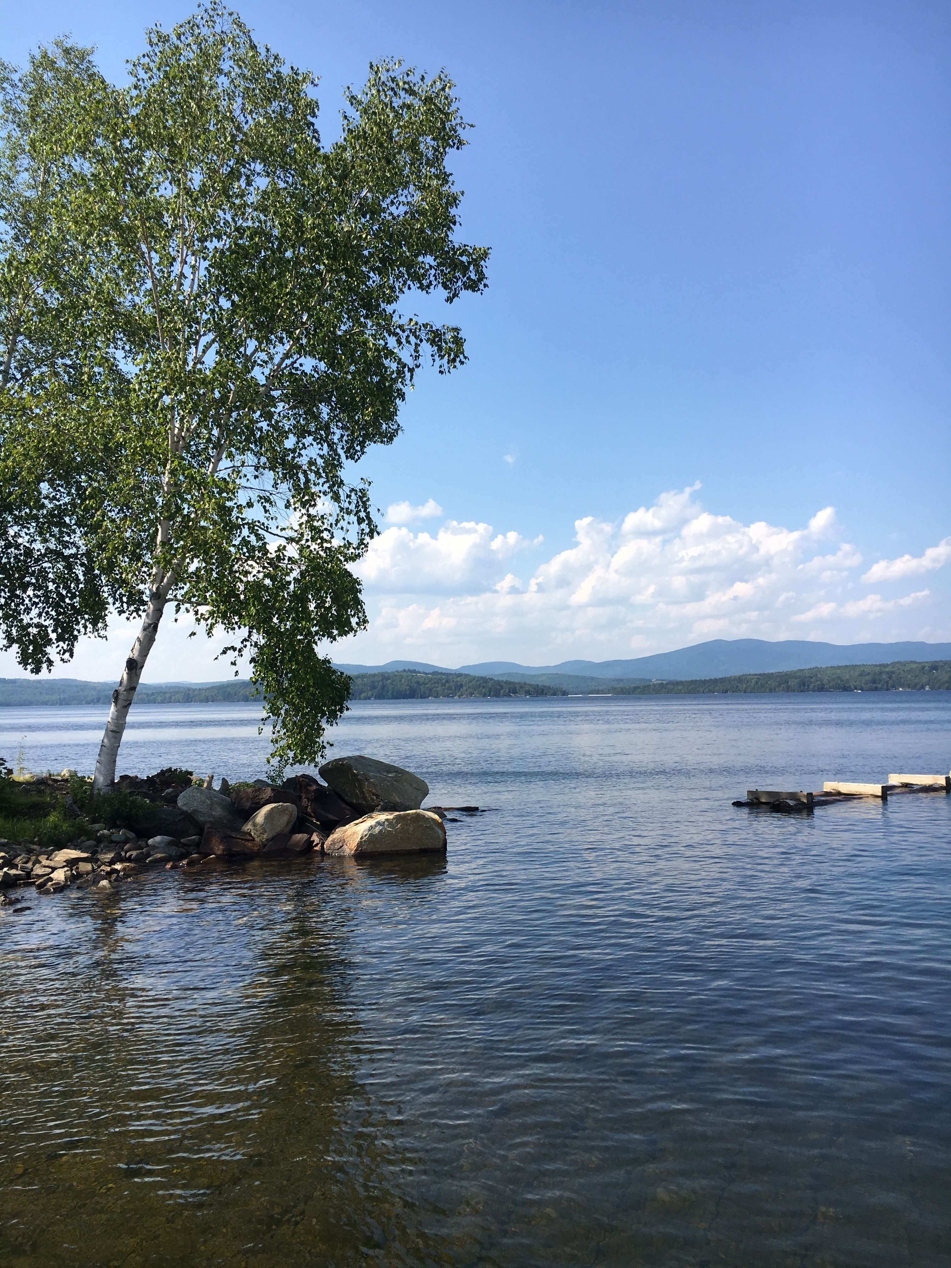 Rangeley Lake State Park and Campground near Weld, Maine ...