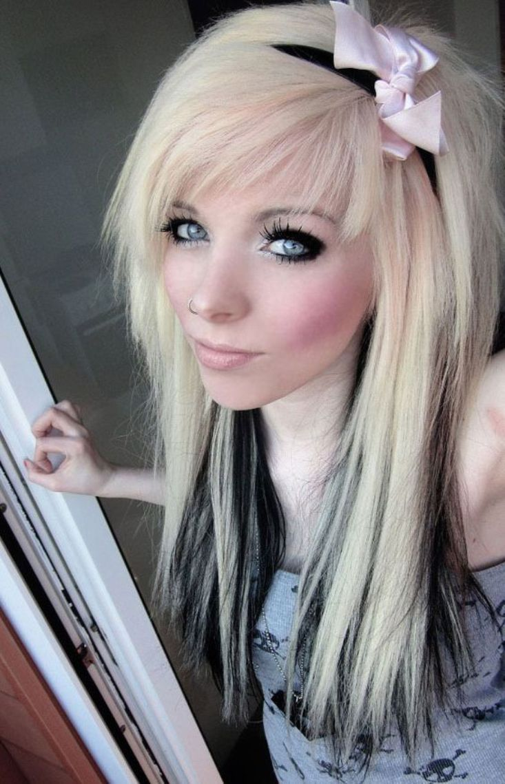 Emo Hairstyles Beautiful Emo Hairstyles For Girls  Hair Inspiration  Pinterest