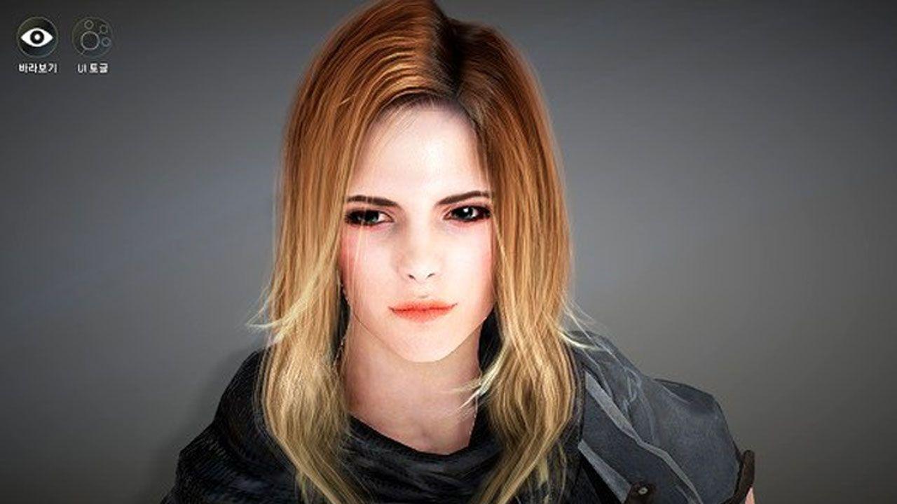 Emma Watson Re Created In Black Desert Online Emma Watson