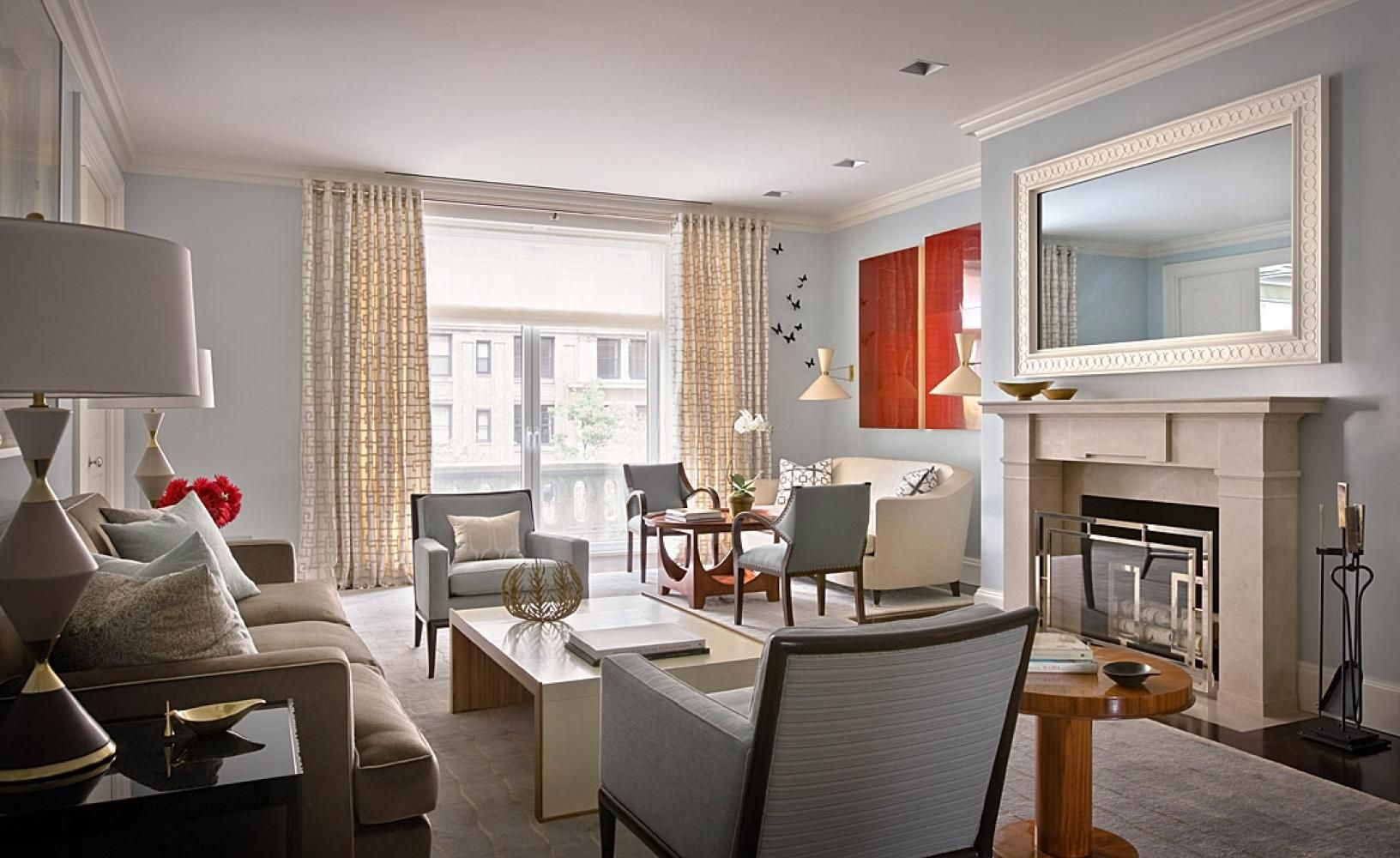 Great Layout For Large Living Room  Park Ave Apartment New York Interesting Apt Living Room Decorating Ideas Decorating Design