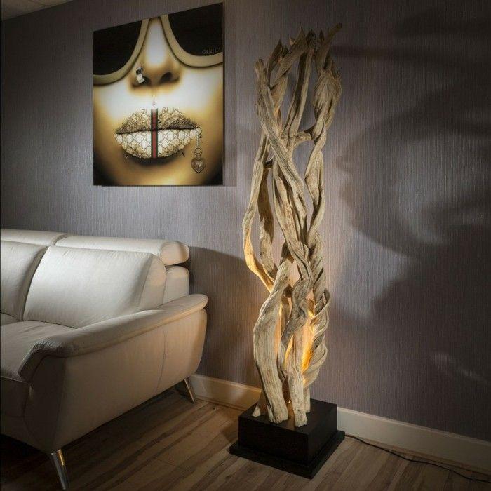 Treibholz Lampe- 69 DIY Ideen, Inspirationen und noch vieles mehr ...