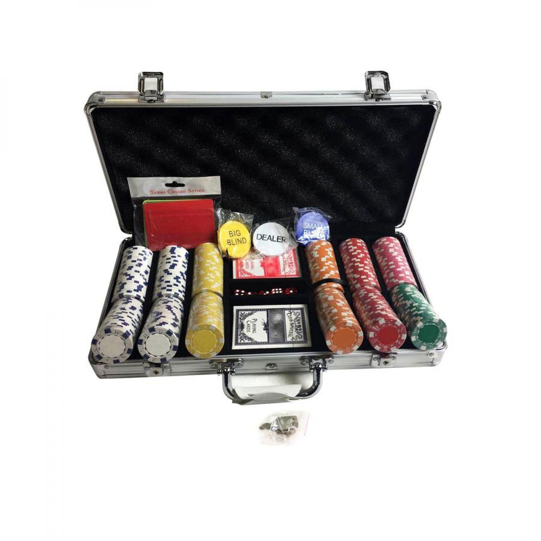 Gram Texas Hold 'em Poker Chip Set Infographic Poker