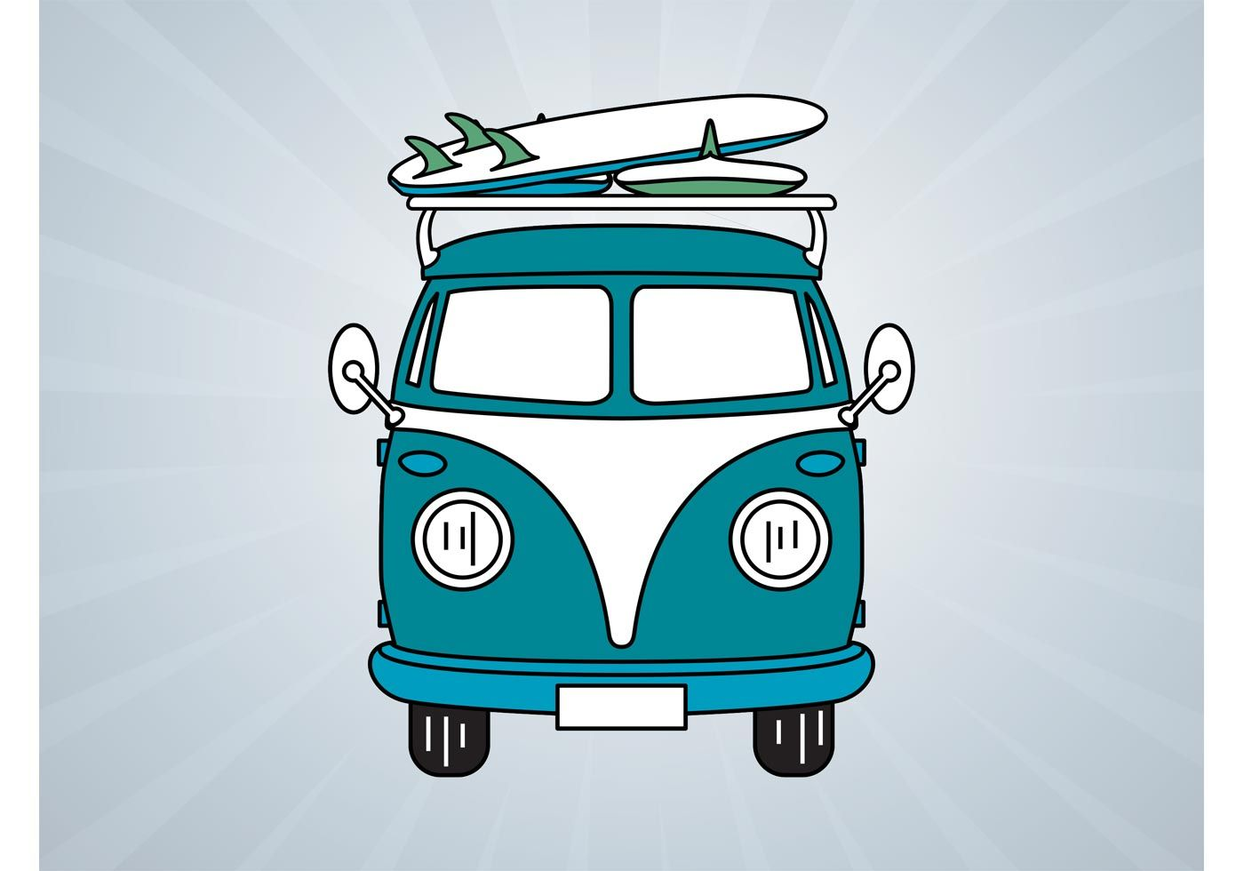 vw bus  vector art   downloads branding pinterest voiture combi  dessin