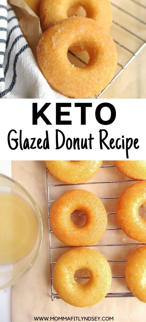 Photo of Keto Donuts Rezept {Krispy Kreme Nachahmer} – Momma Fit Lyndsey