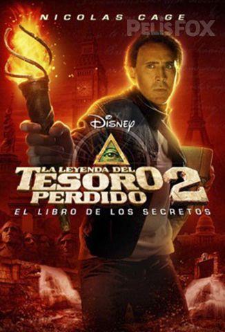 La Leyenda Del Tesoro Perdido 2 El Libro De Los Secretos Libro Secreto La Leyenda Del Tesoro Perdido 2 Nicolas Cage