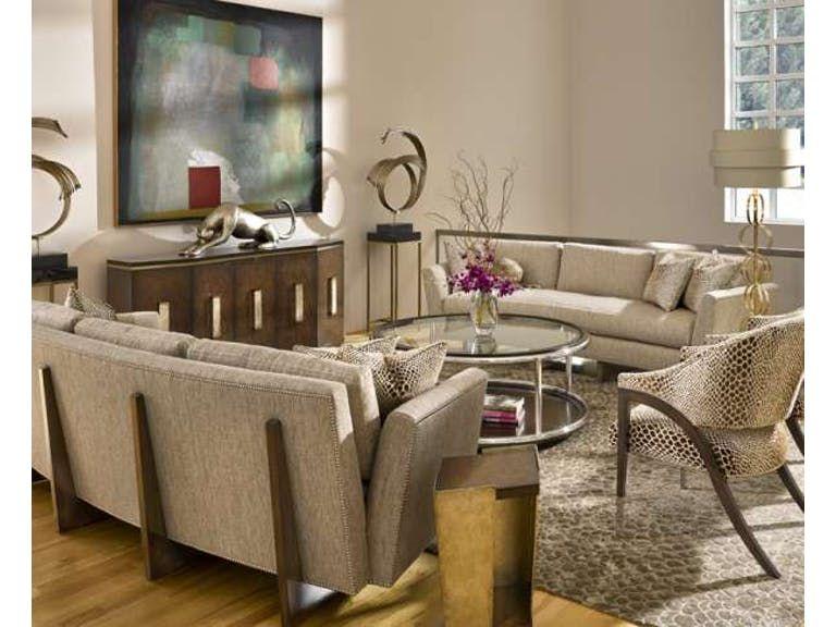 Marge Carson Living Room Austin Sofa Aus43 Saxon Clark