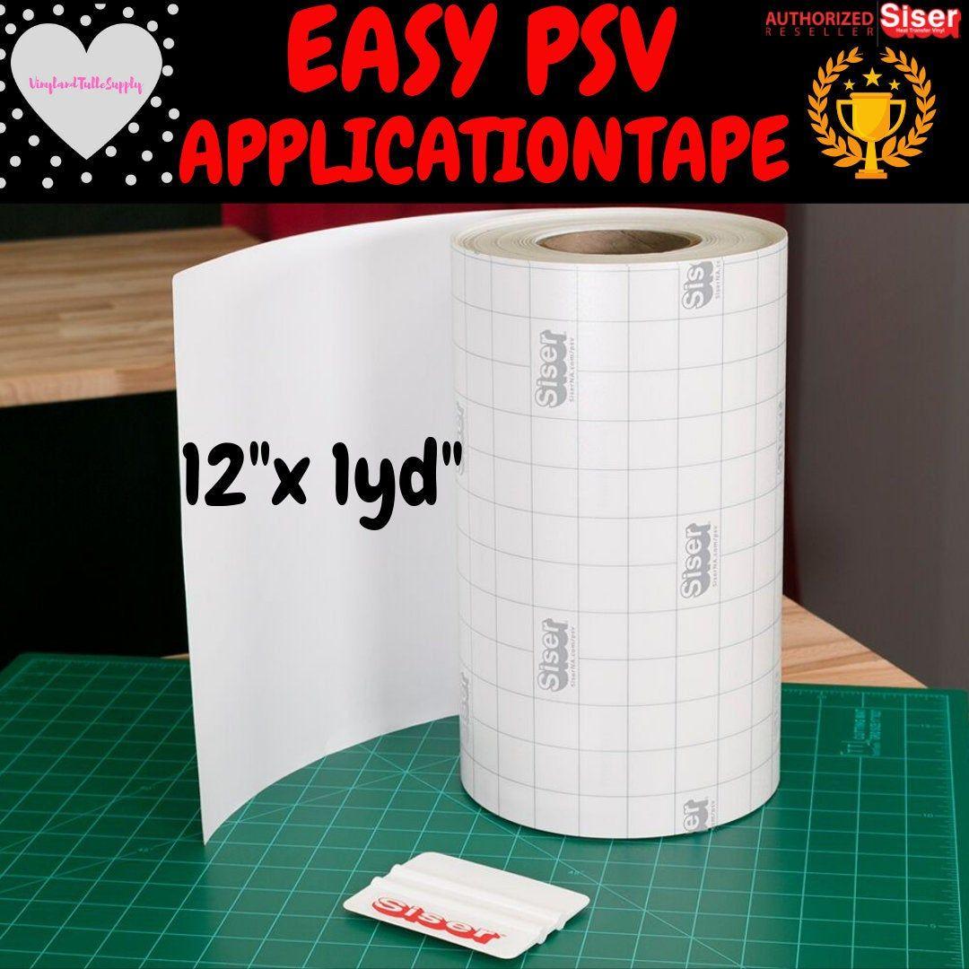1 Yard Siser Easy Psv Application Tape 12 12 X Etsy Adhesive Vinyl Siser Paper Liner