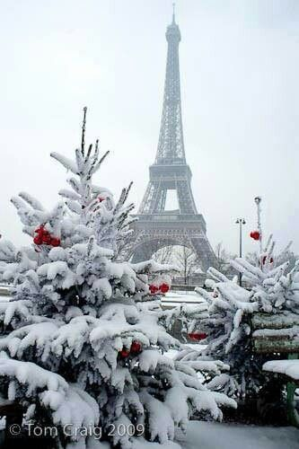 ✯ Christmas in Paris So want to go to Pinterest Winter