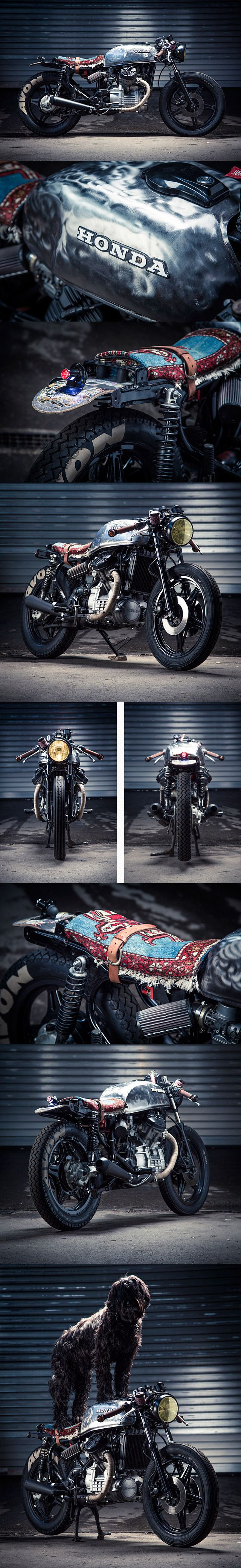 78 Honda Cx500 Patrick Sauter Honda Cx500 Cafe Racer Bikes Cafe Racer