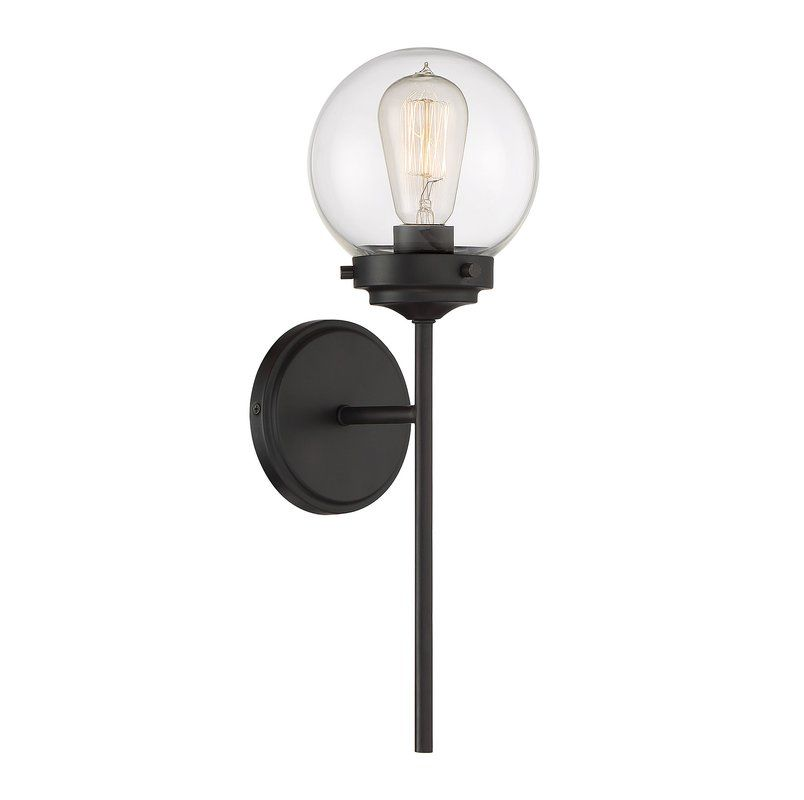 Rondon 1 Light Armed Sconce In 2021 Sconces Wall Sconces Light