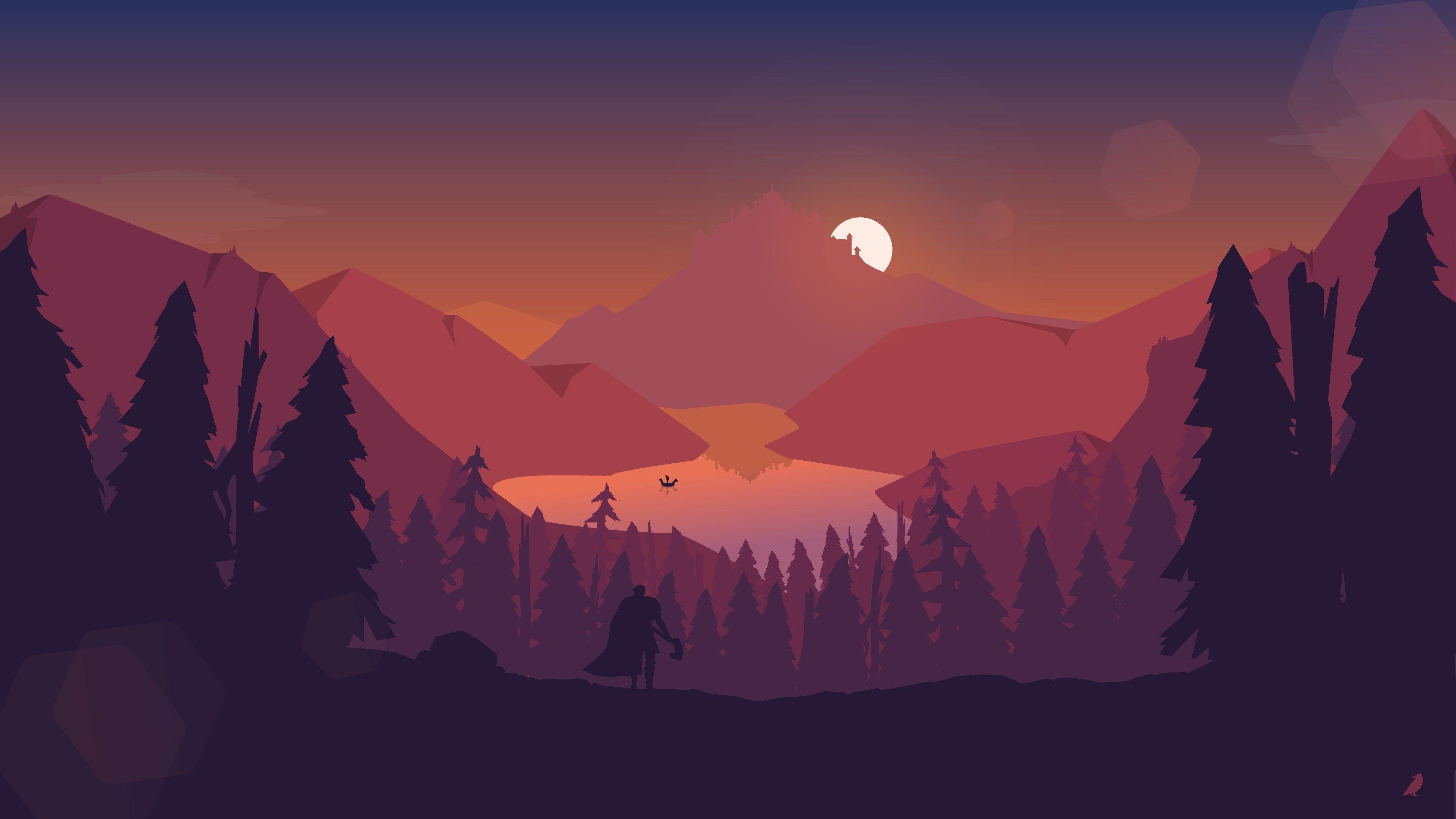 A Nice Sun Set 4k Wallpaper Desktop Wallpaper Art Abstract Wallpaper Backgrounds Landscape Wallpaper