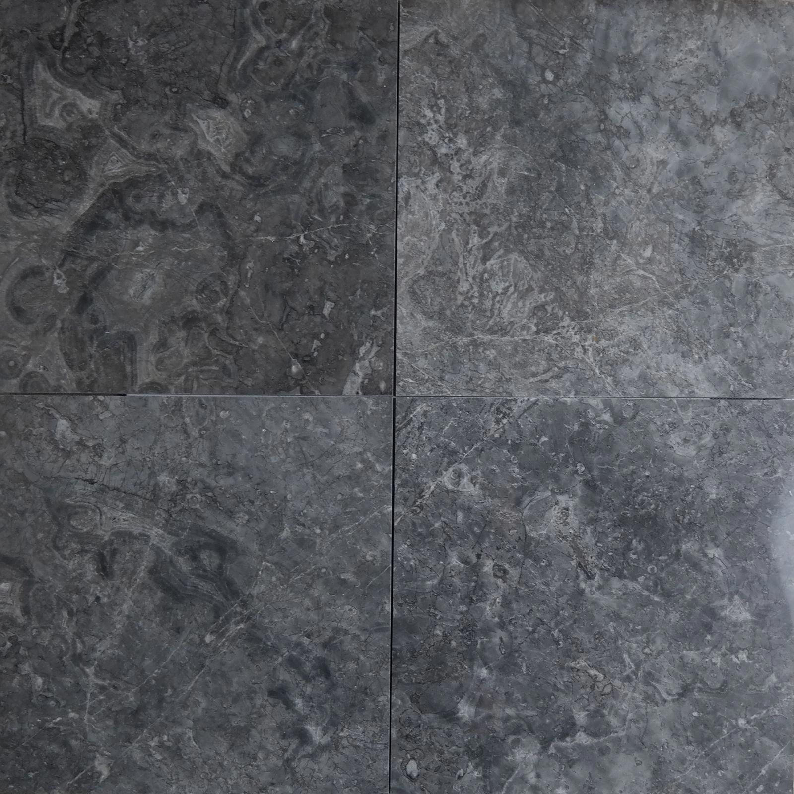 12 X 12 Tile Dark Grey Marble Polished Wall Floor Tile Kitchen Backsplash Bathroom Wall Floor Luxury Stone Ba Marble Polishing Grey Marble Floor Grey Flooring
