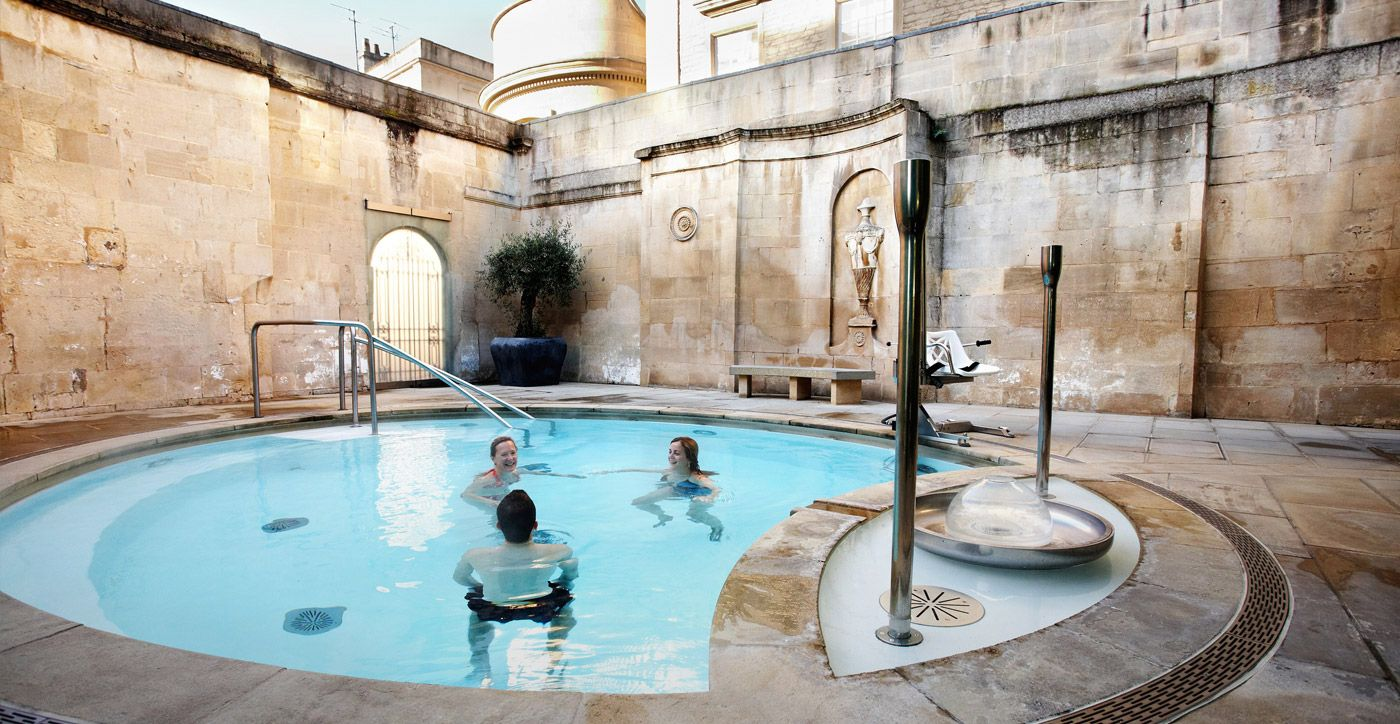 OUT AND ABOUT: Thermae Bath Spa - Milk & Honey   Spa Travel ...