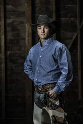 34a7fe80bd7 Your 2013 Calgary Stampede bareback riding champion is Caleb Bennett ...